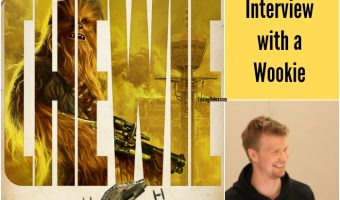 Who Plays Chewbacca? My Interview with a Wookie!
