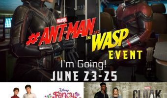 Next Stop: Ant-Man and the Wasp Press Junket (Hollywood)