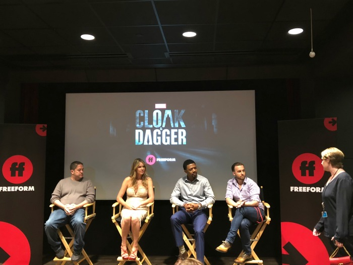 Cloak & Dagger exclusive cast interviews