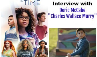 Deric McCabe interview A Wrinkle in Time
