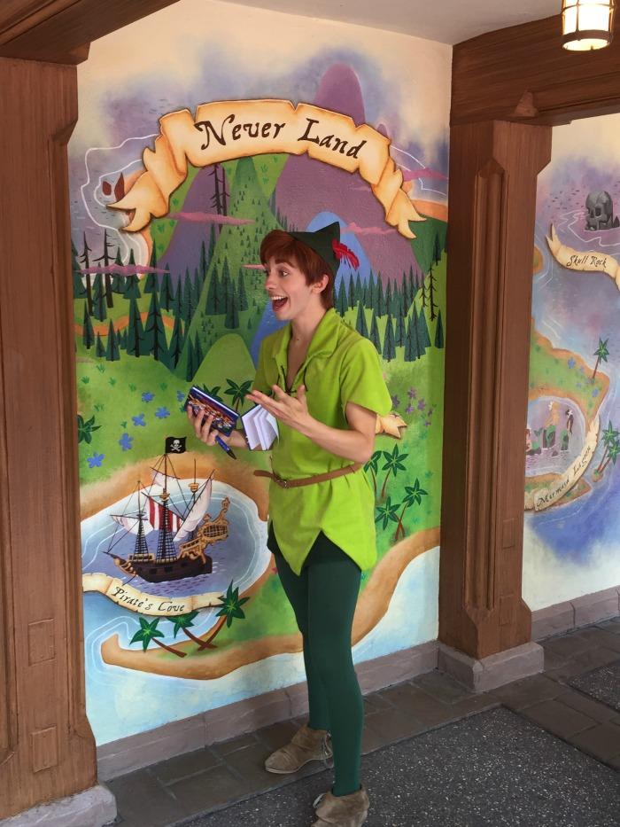 Peter Pan Walt Disney World
