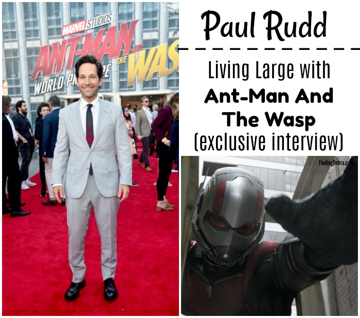 Paul Rudd Living Large with Ant-Man and the Wasp