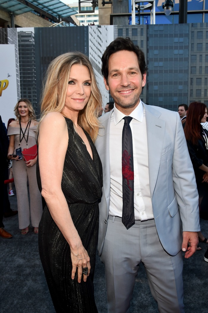 Paul Rudd and Michelle Pfeiffer - AntMan and the Wasp