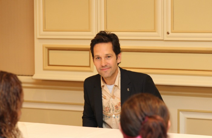 Paul Rudd exclusive interview Ant-Man and The Wasp