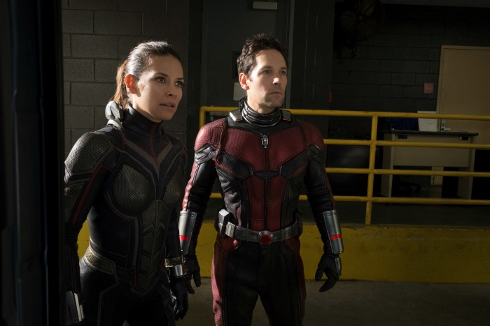 ant-man and the wasp in suits