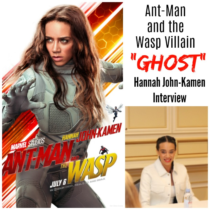 Ant-Man and the Wasp Villain - Hannah John-Kamen interview