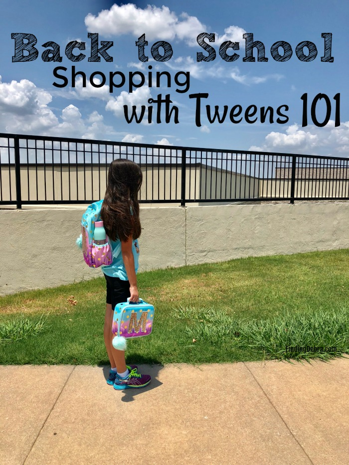 Back to School Shopping with Tweens 101