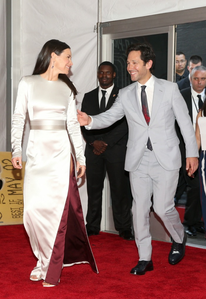 Evangeline Lilly and Paul Rudd Ant-Man and The Wasp Premiere