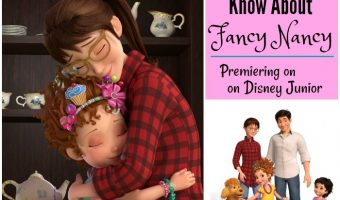 Fancy Nancy premiering on Disney Junior