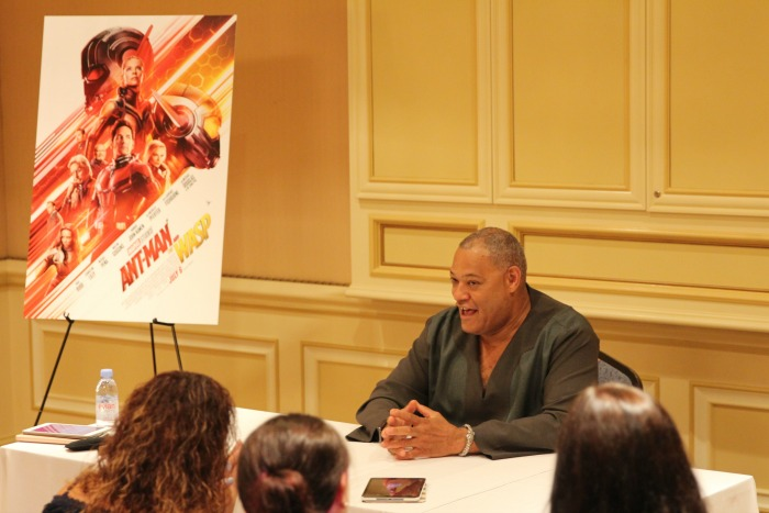 Laurence Fishburne interview