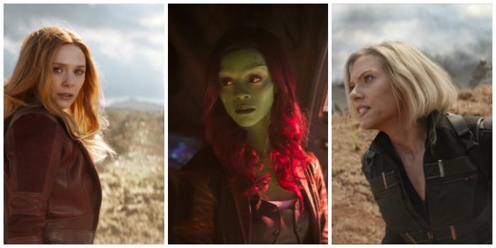 Marvel female superheroes