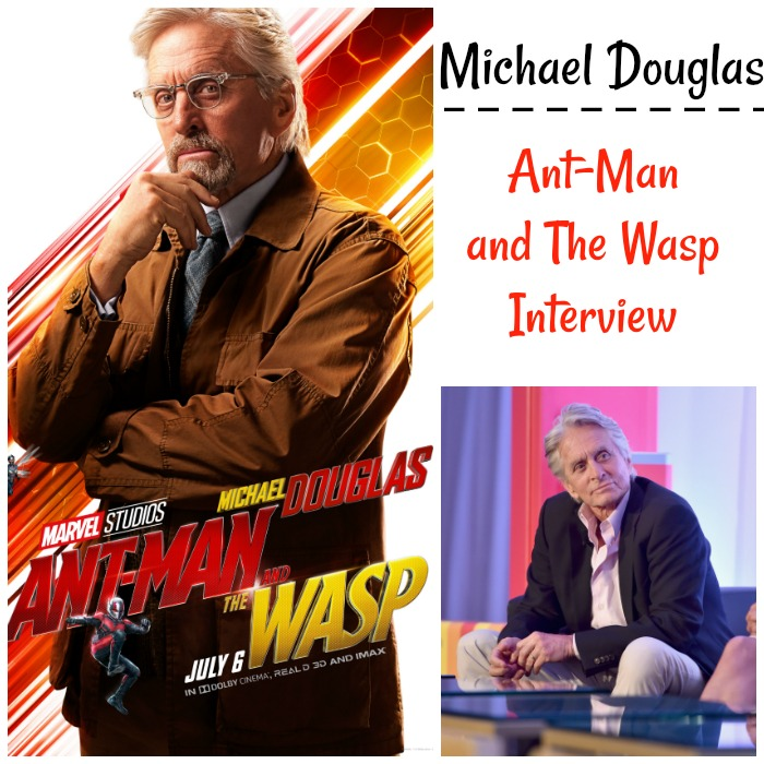 Michael Douglas: Ant-Man and The Wasp Interview