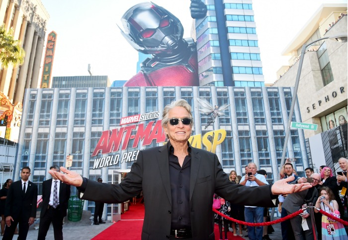 Michael Douglas Ant-Man and The Wasp premiere
