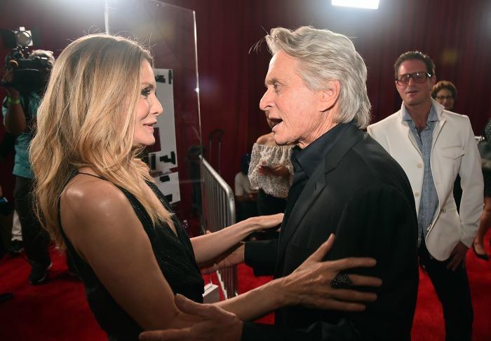 Michael Douglas and Michelle Pfeiffer