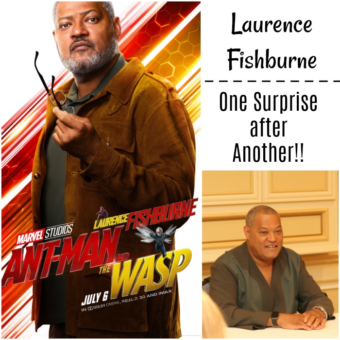 Laurence Fishburne - Ant-Man and the Wasp