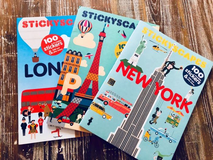 Stickyscapes book giveaway