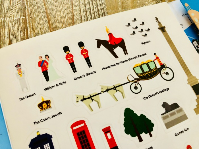 Stickyscapes travel themed sticker books for kids