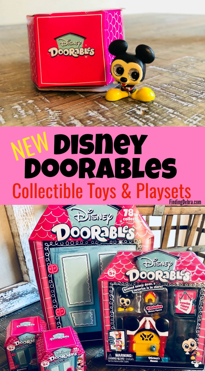 Disney Doorables New Collectible Toys and Playsets