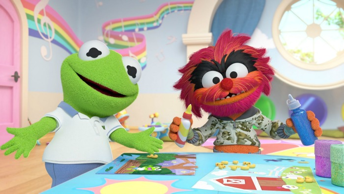 Muppet Babies Bluray giveaway