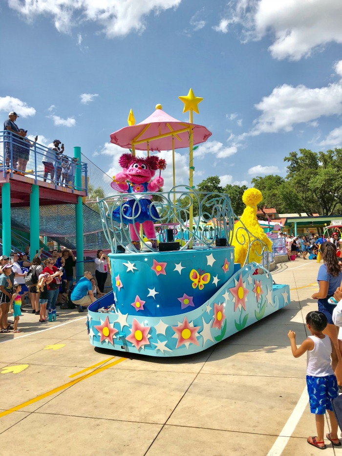 SeaWorld San Antonio Sesame Street Party Parade