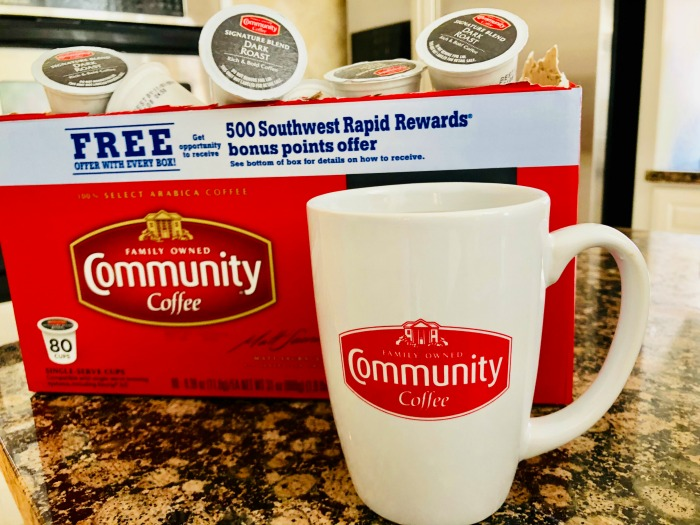 Community Coffee Sam's Club Southwest Rapid Rewards