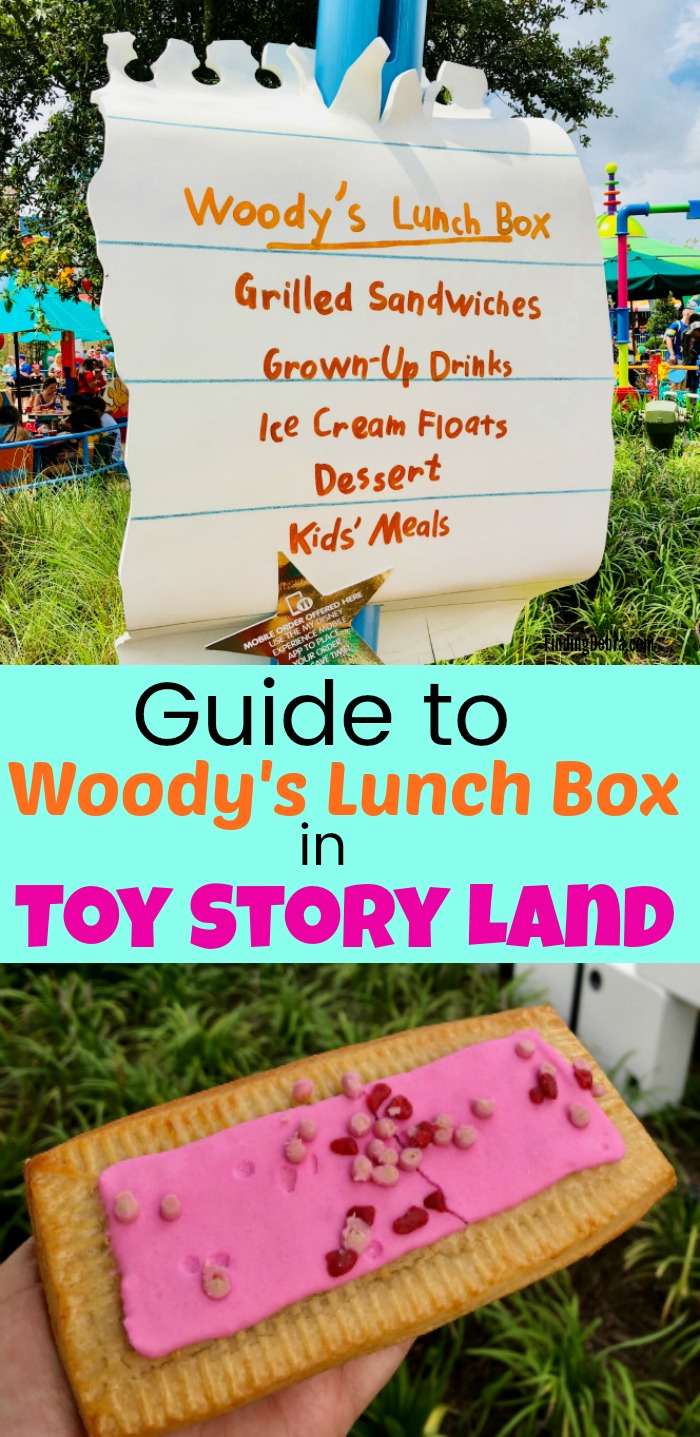 Guide to Woody's Lunch Box in Toy Story Land at Walt Disney World's Hollywood Studios