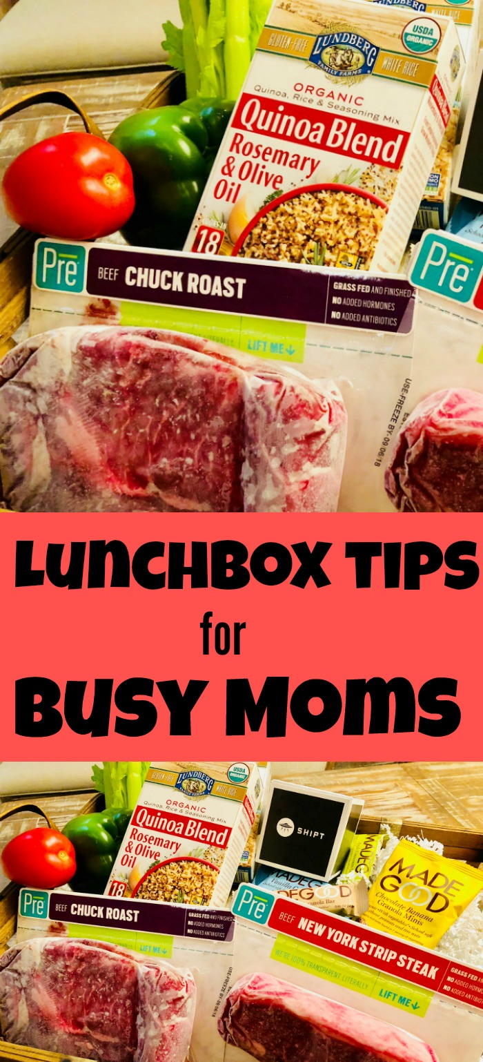 Lunchbox tips for busy moms