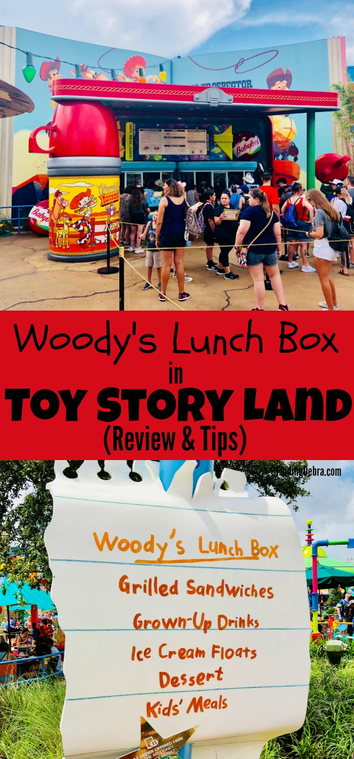 Woody's Lunch Box Review and Tips from Toy Story Land at Walt Disney World's Hollywood Studios!