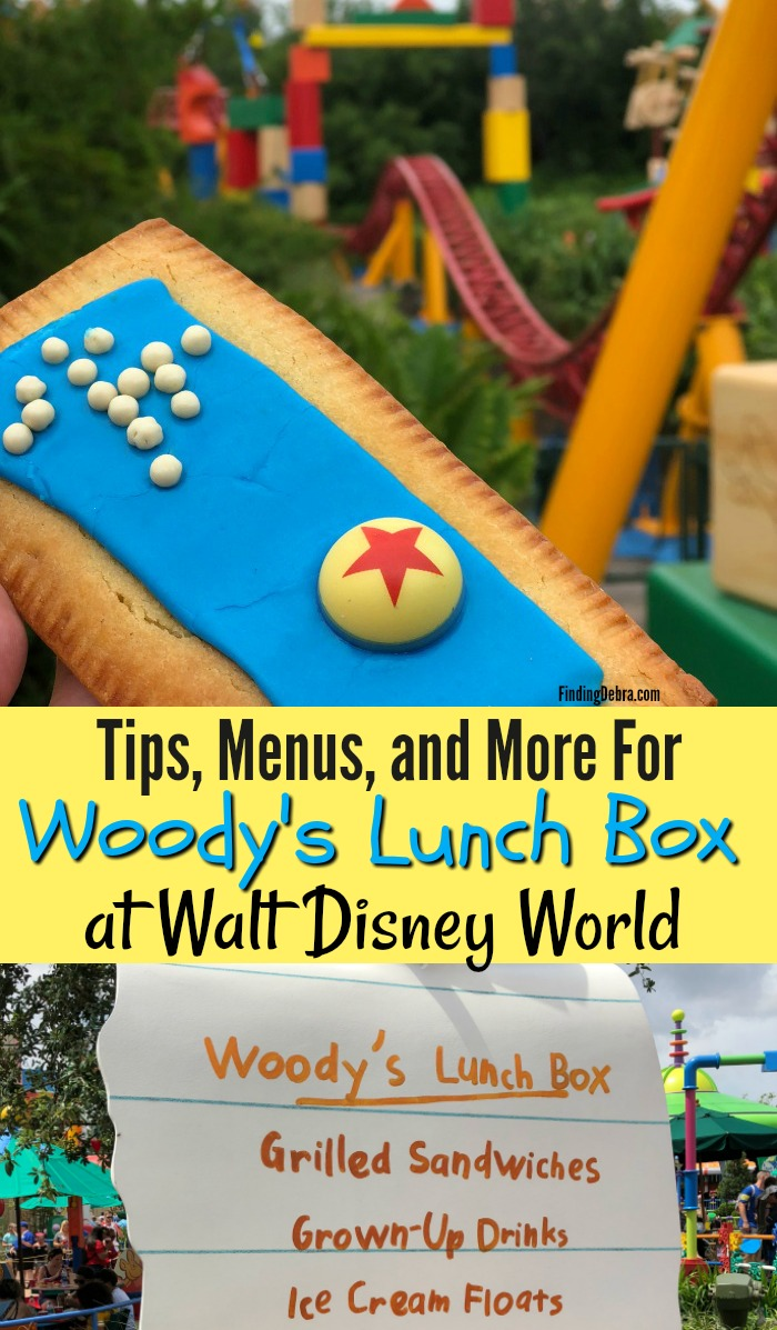 Woody's Lunch Box at Walt Disney World - Tips, Menus and more