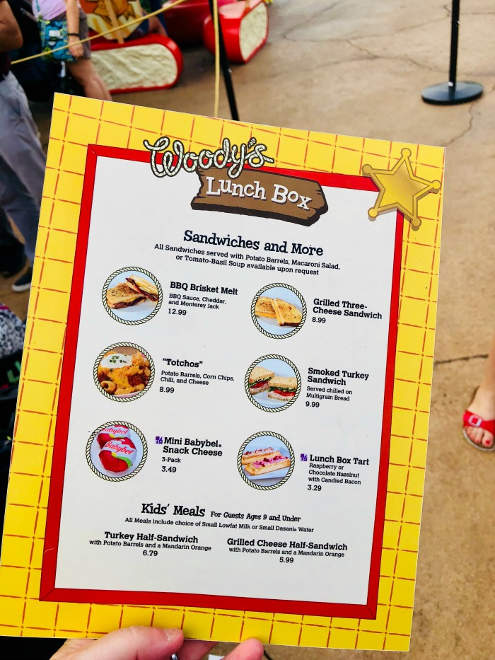 Woody's Lunch Box review lunch and dinner menu