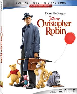 Christopher Robin Bluray