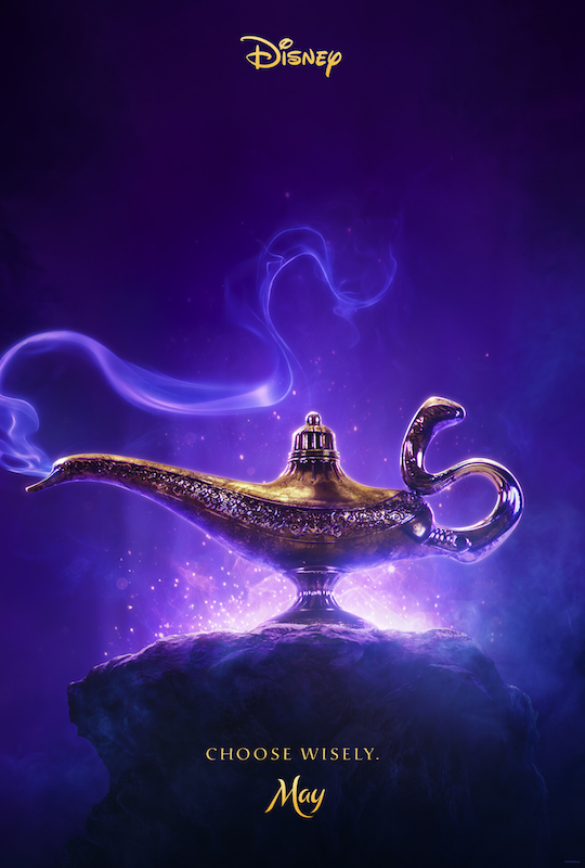 First Aladdin trailer - poster
