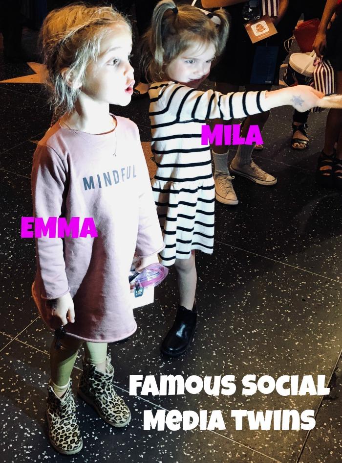 Mila and Emma