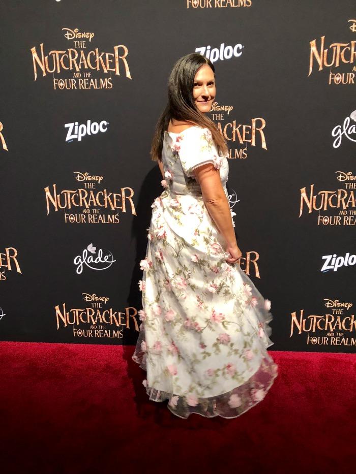 Nutcracker red carpet premiere dress