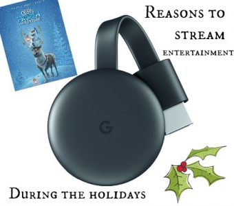 4 Reasons to Stream Entertainment During the Holidays