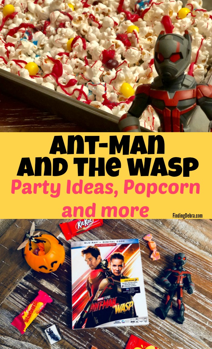 Ant-Man and the Wasp party ideas, popcorn and more