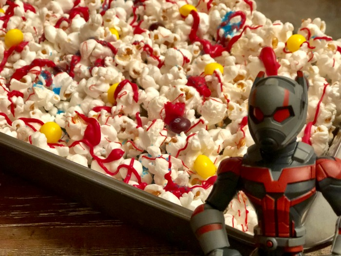 Ant-Man and the Wasp party popcorn