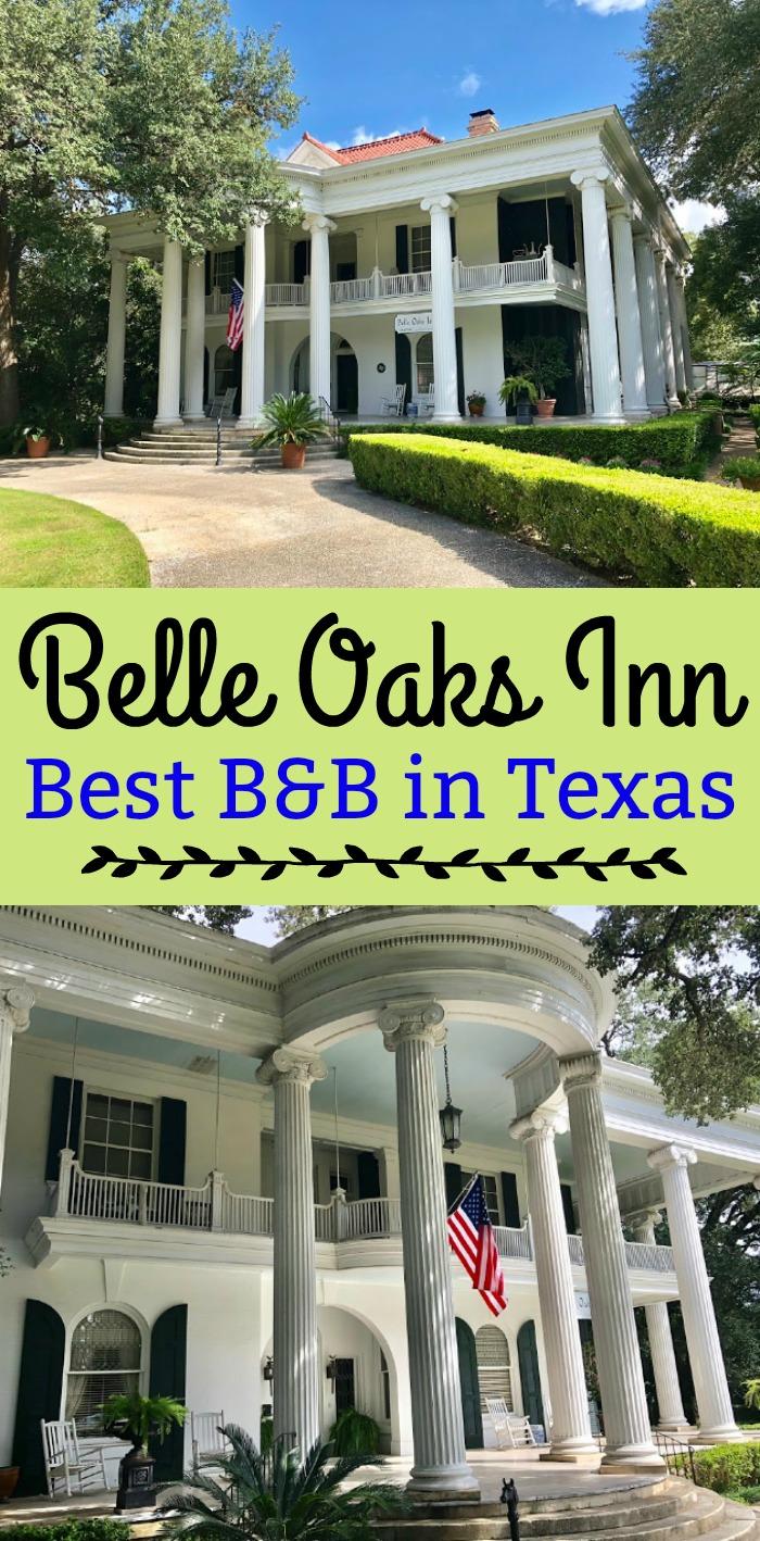 Belle Oaks Inn - Best B&B in Texas (Gonzales, Texas bed and breakfast)