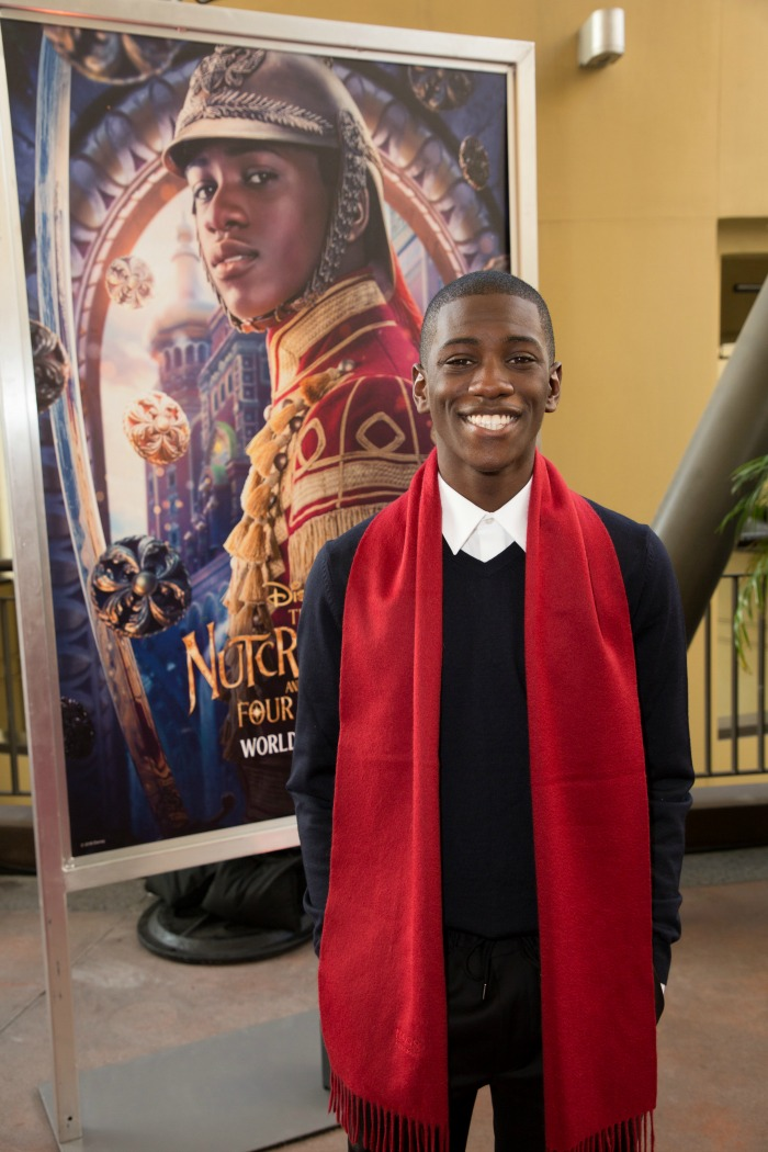 Disney's The Nutcracker and the Four Realms red carpet premiere Jayden Fowora-Knight
