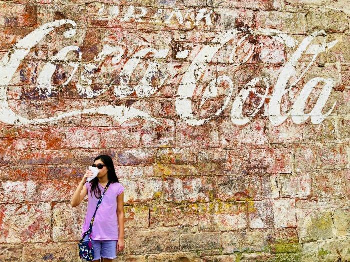 Gonzales Texas Coca-Cola mural