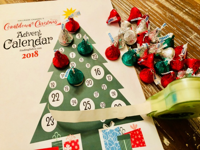 Hallmark Channel Advent Calendar