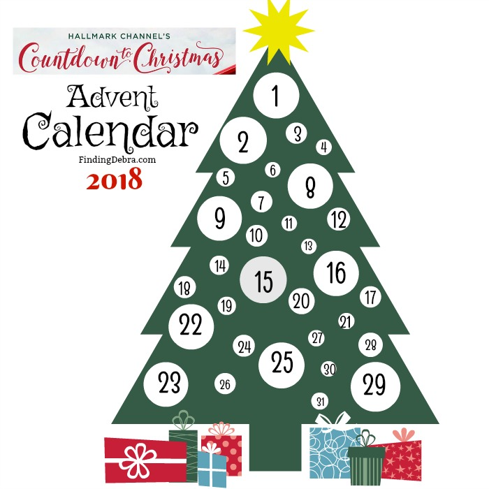Hallmark Channel Countdown to Christmas Advent Calendar 2018 Free Printable