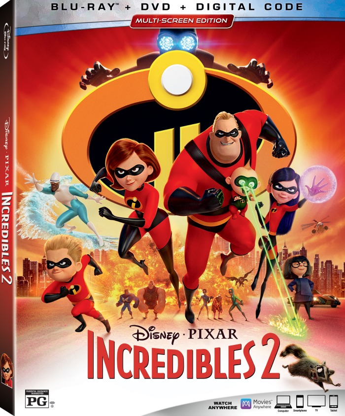 Incredibles 2 Bluray