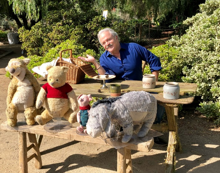 Jim Cummings Christopher Robin Interview - I Met Pooh! - Finding Debra