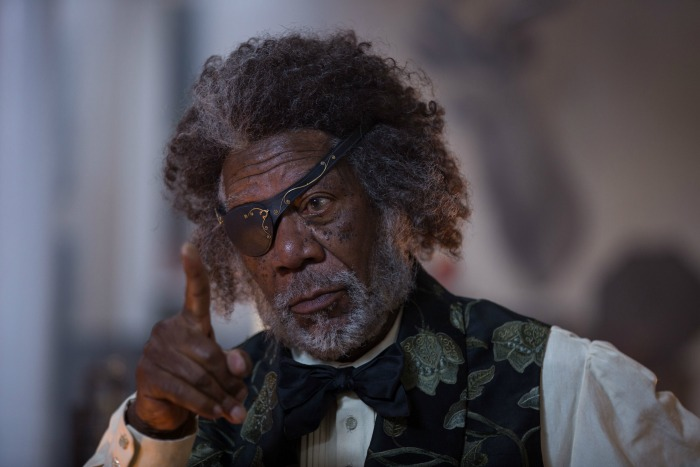 Nutcracker and the Four Realms Morgan Freeman
