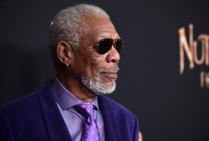 Nutcracker and the Four Realms red carpet premiere - Morgan Freeman