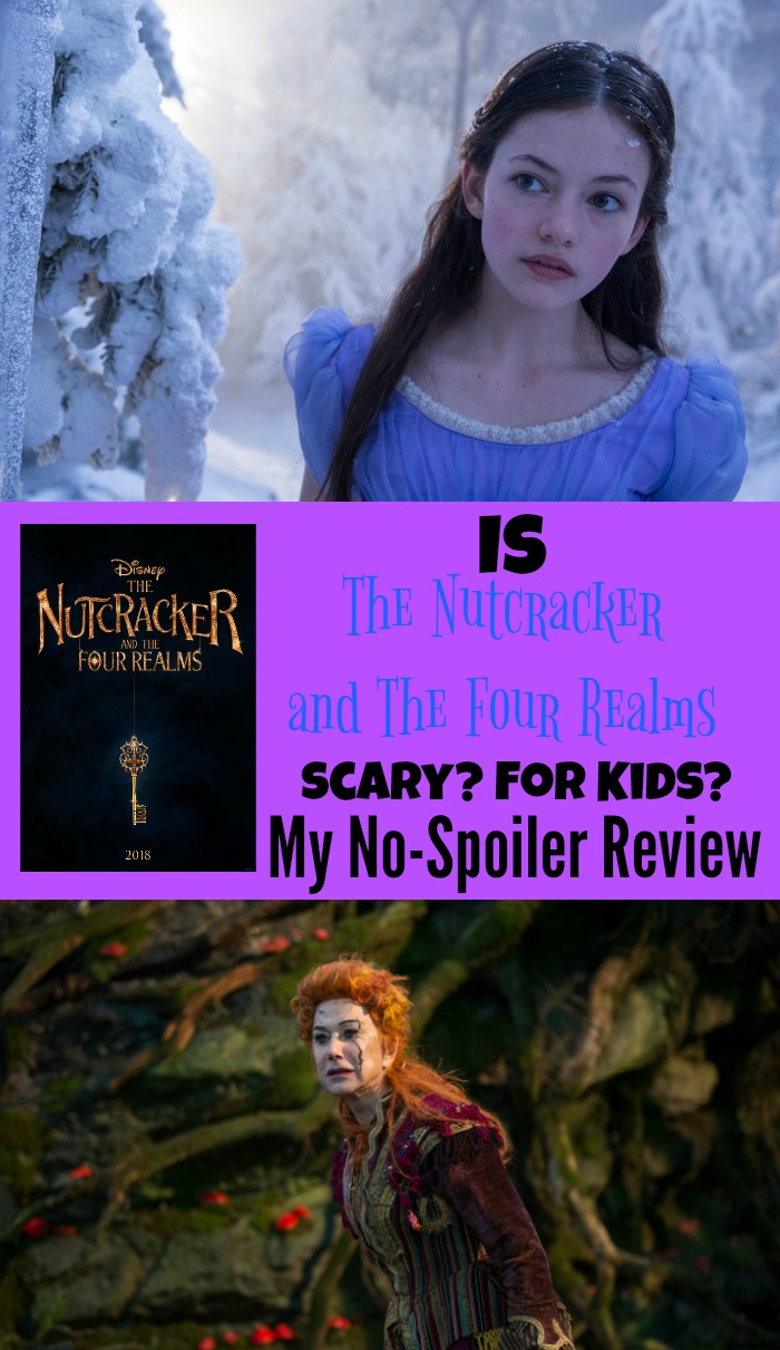 Is The Nutcracker and The Four Realms Scary? For Kids? No Spoiler Review