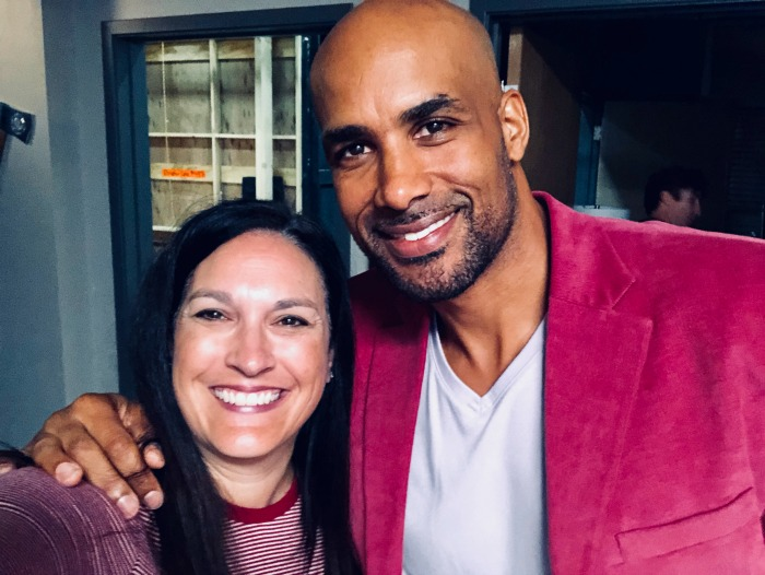 Station 19 Boris Kodjoe and Debra Muccio