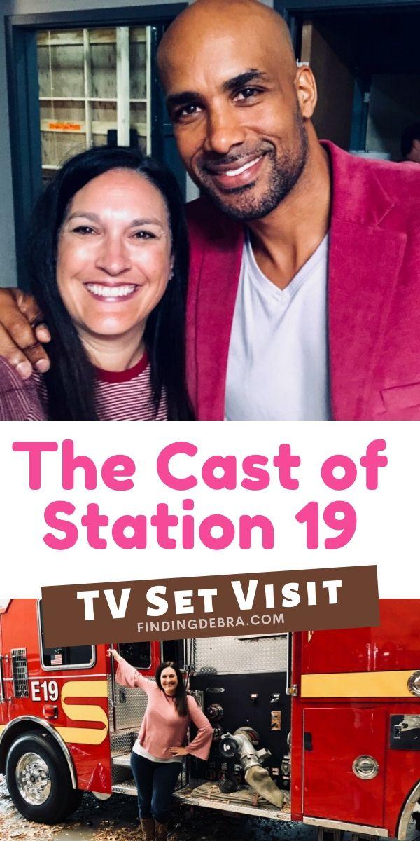 Station 19 Set Visit