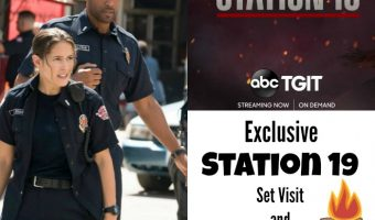 Station 19 set visit and cast interviews